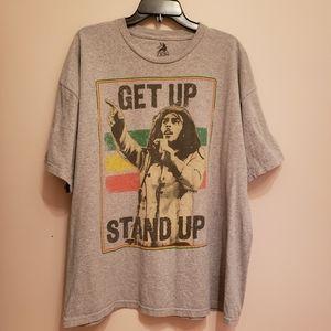 RARE Bob Marley 'Get Up Stand Up' Tee XXL